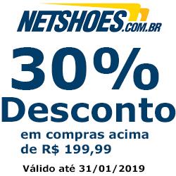 30% de desconto em compras acima de R$199,99
