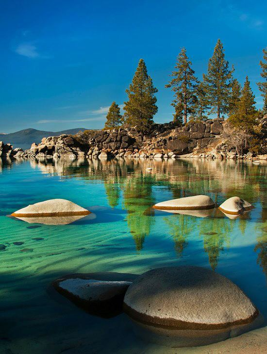 Sand Harbour in Lake Tahoe Nevada