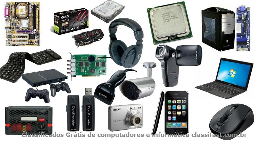 Classificados grátis de computadores e informática