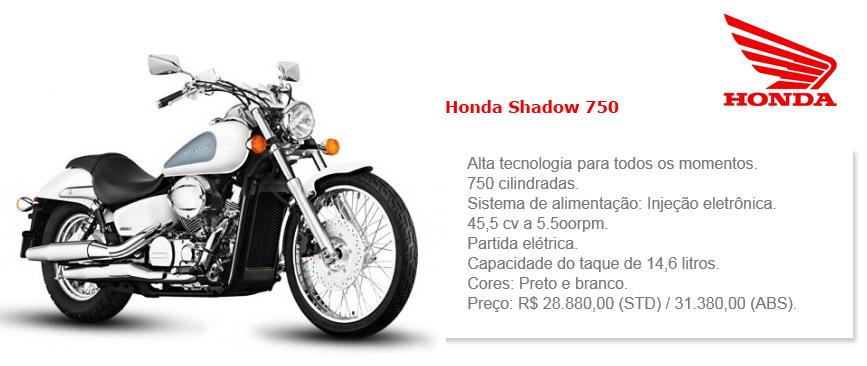 Classificados grátis honda Shadow 750
