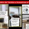 TECIDOS PARA CORTINAS  ROLÔ oferta Lojas e Comércio